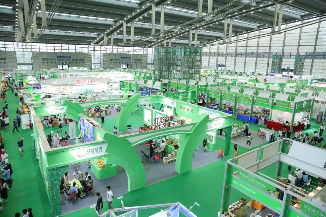 【展团风采】河源绿色农产品在第四届深圳绿博会尽显风采!